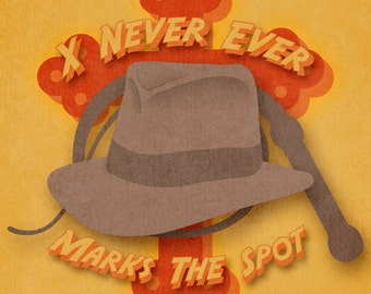 Indiana Jones Print