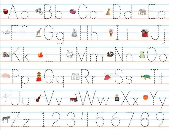 u00c4hnliche Artikel wie Klasse Pack laminierte Alphabet ...