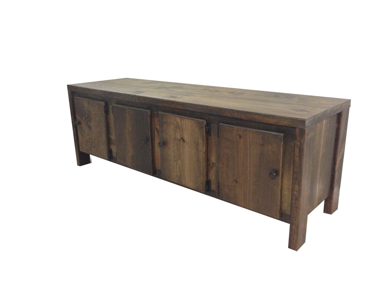 Rustic storage bench Storage benches