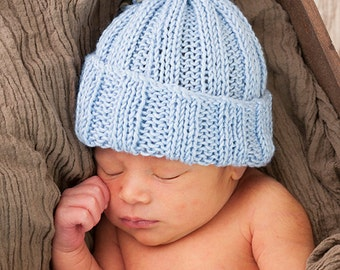 Adorable Sack Hat with Tie in Bamboo, photography prop
