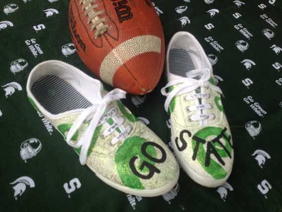 sports teams shoes custom painted made to order shoes