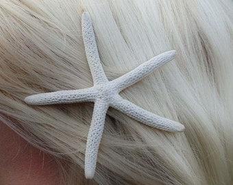 "Starfish bobby pin hair clip - sustainably sourced  - ""Sea Star"""