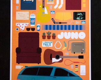 Juno • Movie Parts Poster