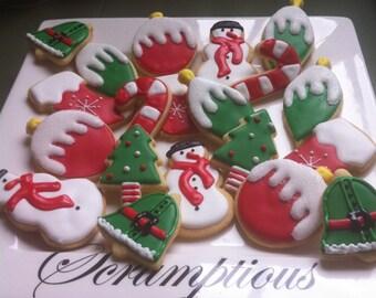24 Christmas Cookies.