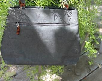 SALE  Amanda Smith, black fabric elegant purse
