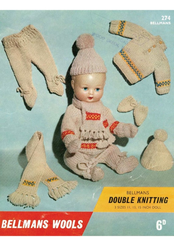 Vintage Doll Clothes Patterns Vintage Boy Dolls Clothes