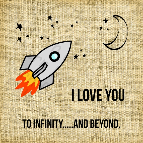 I Love You To Infinity And By Southernsassgraphics On Etsy