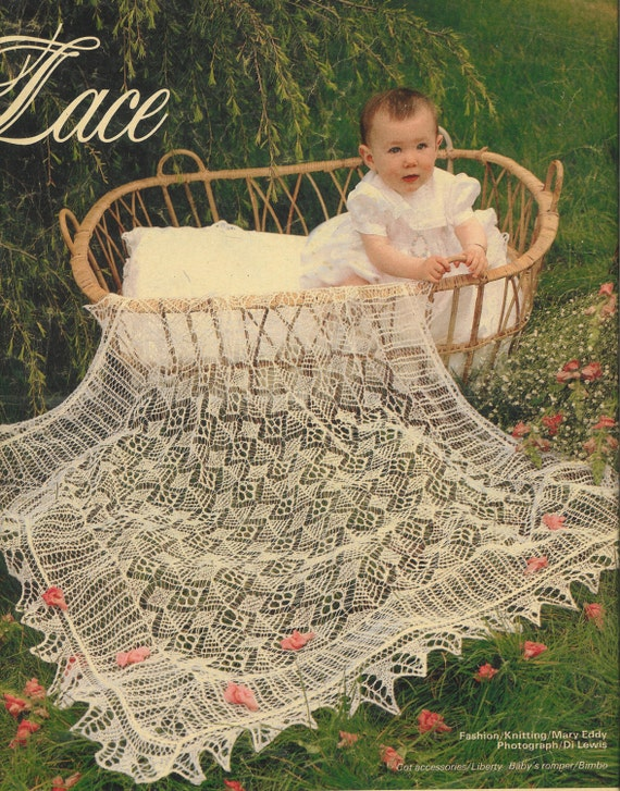 Knitting Patterns For Christening Shawls : Shetland Lace shawl for baby christening present knitting