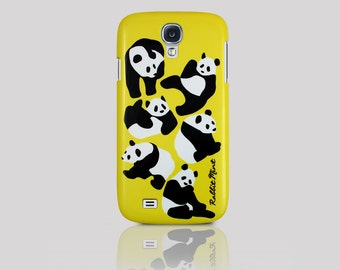 Samsung Galaxy S4 Case - Panda & Yellow (P00036)