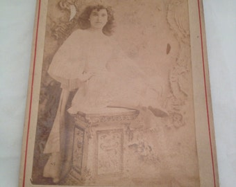 Antique Cabinet Picture of the great Fannie Ward
