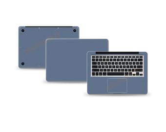 """Macbook Air 13"""" 2nd Gen DECAL Sticker Skin Kit 3M Metal series by Stickerboy-Set 3"""