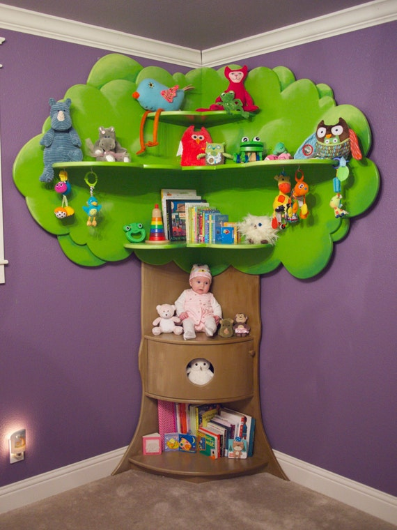 Items Similar To Children S Tree Bookcase On Etsy