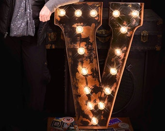 marquee letter marquee sign lighted metal marquee sign marquee light carnival letter - Lighted Marquee Letters