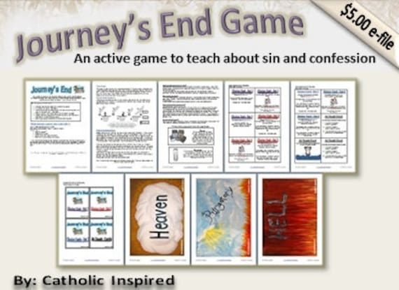 The Journey's End Game - Teach Kids about the need for Confession