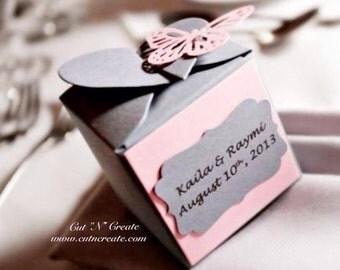 Heart Favors Heart Favor Boxes Heart Wedding Favors Heart Bridal Shower Favors