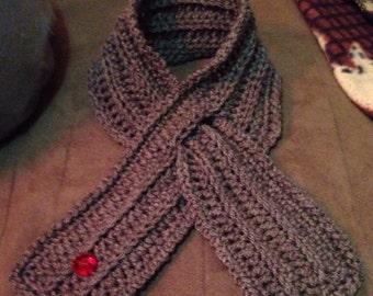Diabetes awareness neck scarf