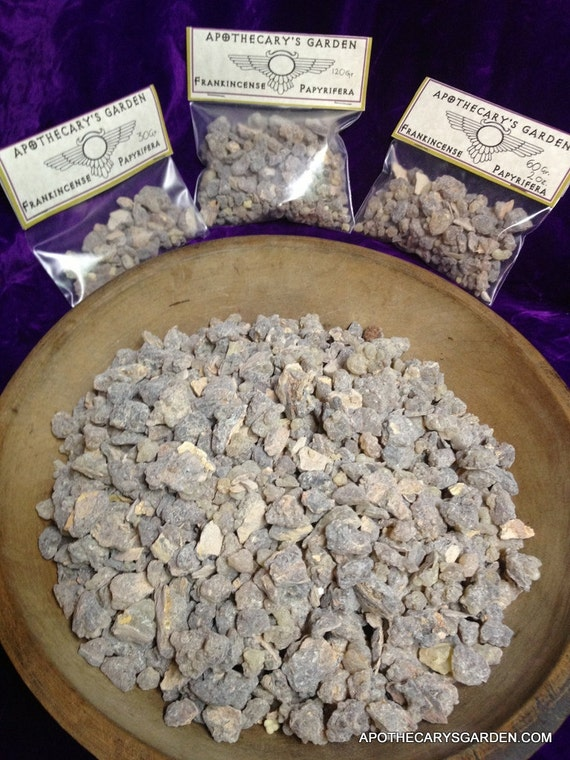 Fresh Frankincense Papyrifera from Ethiopia a source of Boswellic Acids, Incensole and Incensole Acetate affecting brain chemistry and mood. For incense and medicine.