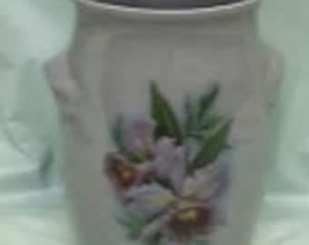 Lavender Stoneware Vase
