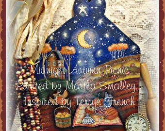 Midnight Autumn Picnic  - Martha Smalley, Painting With Friends E Pattern
