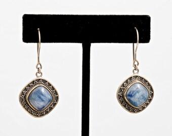 Kyanite 232 - Earrings - Sterling Silver & Kyanite