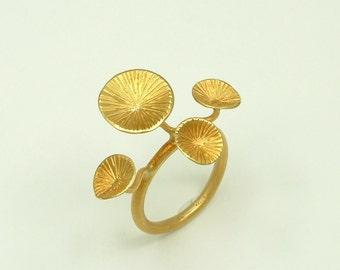 Handmade Gold 18k Ring (Χρυσό 18k Δαχτυλίδι Χειροποίητο)