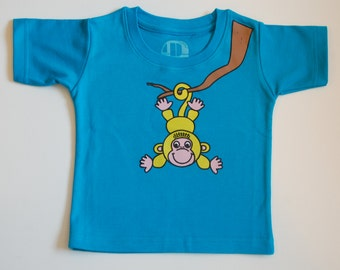 Indian monkey tshirt for toddlers