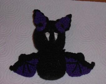 crocheted bat