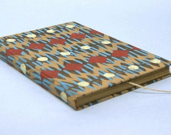 Diary with ethno pattern