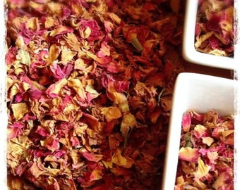 Organic Rose Petals Herbal Tea 1oz pack-US Seller-Herbal Teas