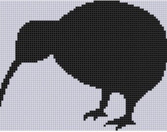 Kiwi Cross Stitch Pattern
