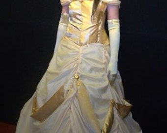 Costume adult Belle Beauty and the Beast Disney
