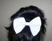 articles similaires filles gros noeud pour cheveux pingle cheveux gros noeud blanc noeud. Black Bedroom Furniture Sets. Home Design Ideas