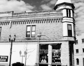 Black and White Hardware Store Quaint Downtown Wauwatosa Wisconsin Fine Art Photo Print Home Wall Decor by Rose Clearfield on Etsy