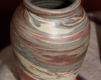 Vintage Niloak Missionware Vase with Satin Finish