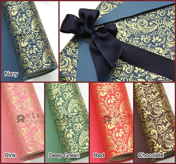 18M 1Roll High quality wrapping paper Double Sided Printing