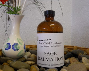 "Fall SALE! Grade ""A"" SAGE Essential Oil- 100% Pure, Organic, Medicinal Quality Healing Oil **Big Fall Savings***"