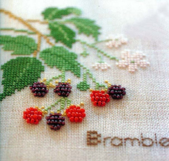 Creative needlecraft bead embroidery diy kit by minicreature