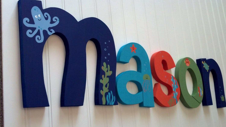 Nursery Decor Nursery Wall Decor Custom By