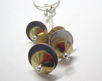 Cymbal Necklace