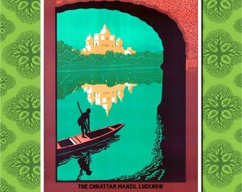 India Travel Poster Wall Decor (7 print sizes available)