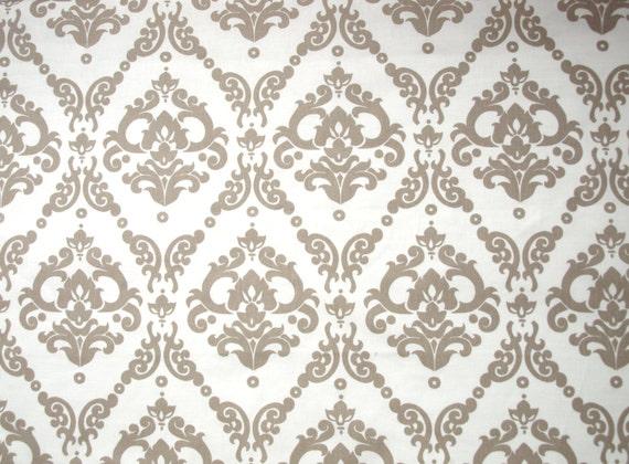 popular brown beige green damask - photo #16