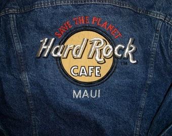 Hard Rock Cafe Maui Denim Jacket
