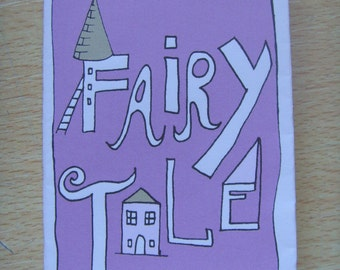 Fairytale Mini Story Book Zine - Anniversary, Valentines Day