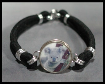 KOALA BEAR Australia Dime Stretch Bracelet - One size fits most - Made In USA
