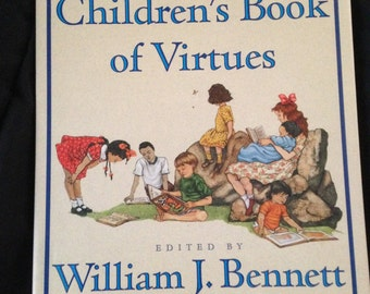 The Children's Book of Virtues Vintage Book