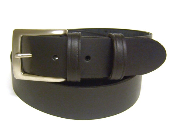 black leather belt for handmade in uk using by