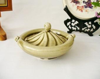Studio Art Pottery Lemon Juicer/Press - Rare, Original - We Do Combine Shipping