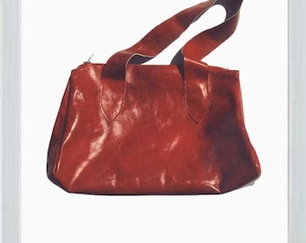 Red Leather Doctor's Bag