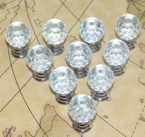 discount glass knobs clear crystal knob drawer knobs dresser pulls