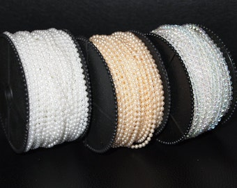 3mm Pearl String 1 meters long
